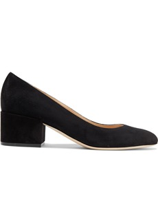 Sergio Rossi Woman Suede Pumps Black