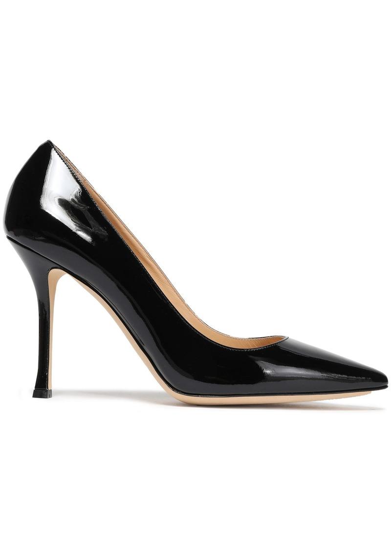 Sergio Rossi Woman Secret Patent-leather Pumps Black