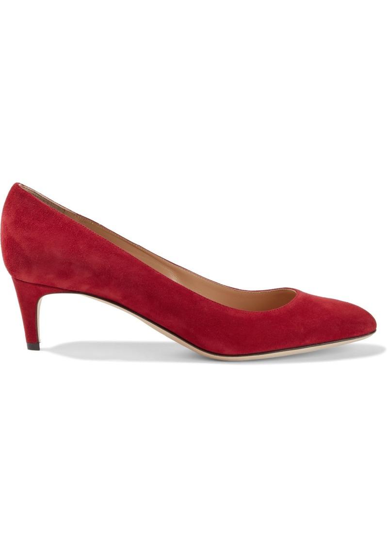 Sergio Rossi Woman Suede Pumps Crimson