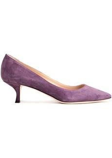 Sergio Rossi Woman Suede Pumps Purple