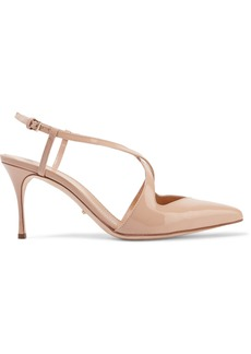 Sergio Rossi Woman Patent-leather Pumps Beige