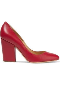 Sergio Rossi Woman Virginia Leather Pumps Papaya