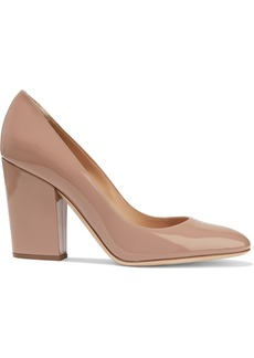 Sergio Rossi Woman Virginia Patent-leather Pumps Neutral
