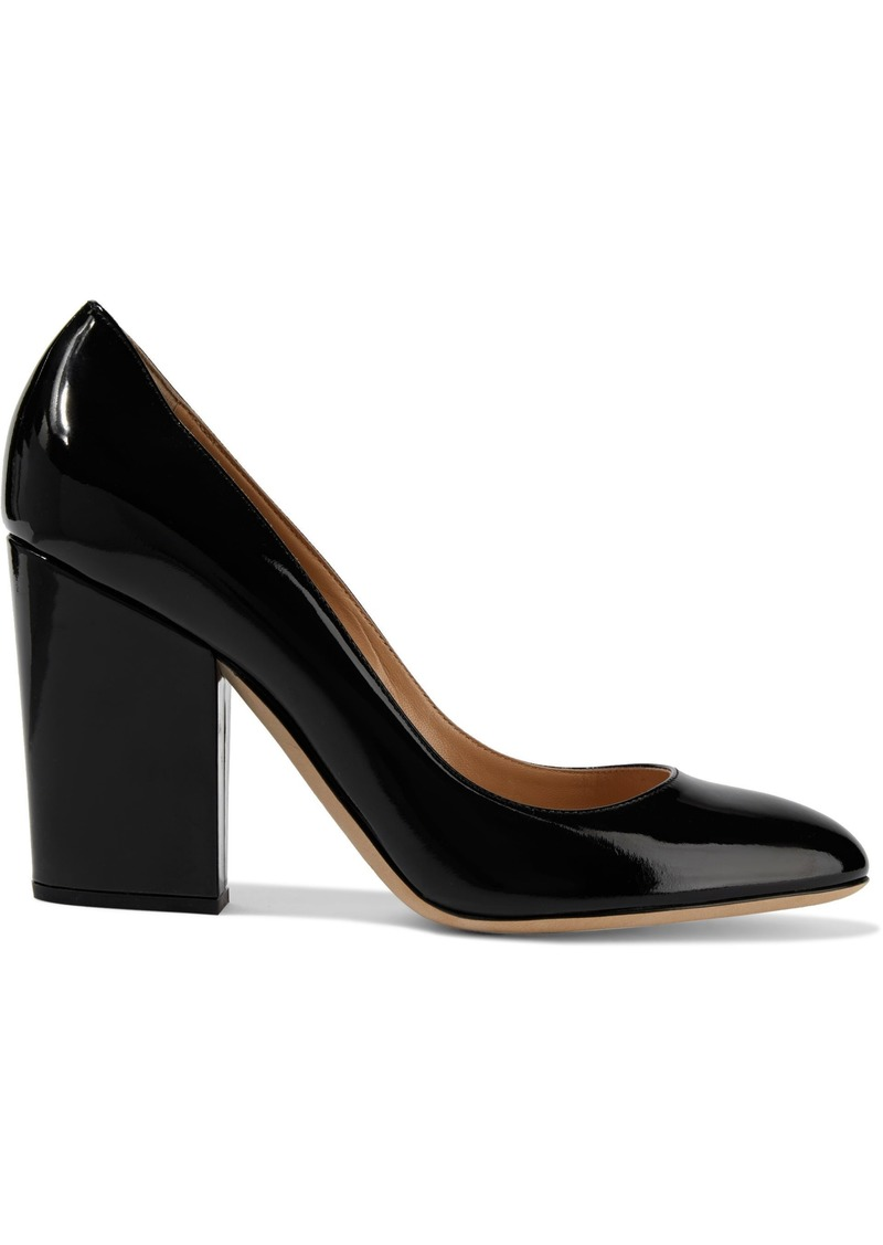 Sergio Rossi Woman Virginia Patent-leather Pumps Black
