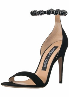 Sergio Rossi Women's Crystal Moon Heeled Sandal  36 Medium EU (366 US)
