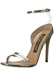 Sergio Rossi Women's Karen Heeled Sandal  39.5 Medium EU (9.5 US)