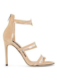 Sergio Rossi Women's Karen Suede & PVC Sandals