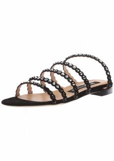 Sergio Rossi Women's Kimberly Slide Sandal  39 Medium EU (366 US)