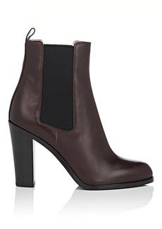 Sergio Rossi Women's Leather Chelsea Booties