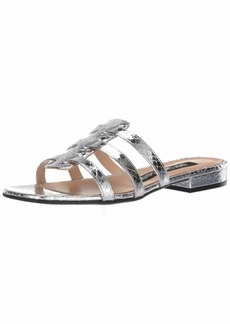 Sergio Rossi Women's SR Demetra Flat Sandal  7