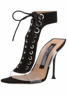 Sergio Rossi Women's SR Milano PVC Sandal  3 M EU ( US)