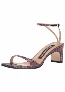 Sergio Rossi Women's SR1 Heeled Sandal  3 Medium EU (3 US)