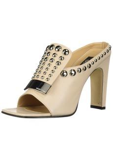 Sergio Rossi Women's SR1 Heeled Sandal  40 Medium EU (366 US)