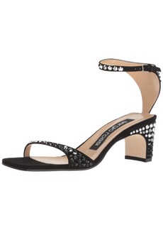 Sergio Rossi Women's SR1 Heeled Sandal  3 Medium EU ( US)