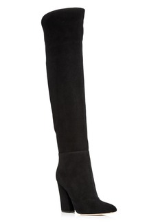 Sergio Rossi Women's Suede Over-the-Knee Boots