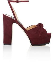Sergio Rossi Women's Suede Platform Sandals