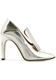 Sergio Rossi square toe pumps