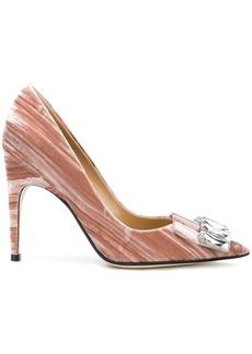 Sergio Rossi sr1 jewel embellished pumps