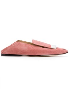 Sergio Rossi SR1 square-toe loafers