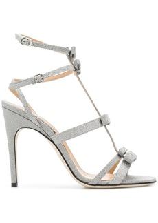 Sergio Rossi strappy glitter sandals