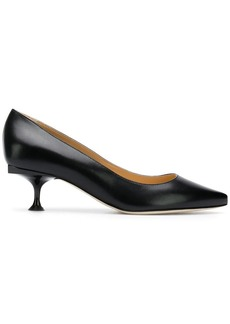 Sergio Rossi structured pumps