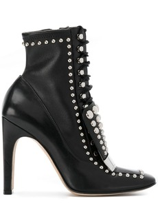Sergio Rossi studded sr1 boots