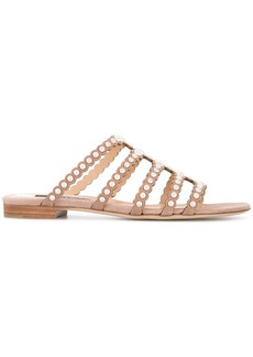 Sergio Rossi studded strappy sandals