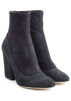 Sergio Rossi Virgina Suede Ankle Boots