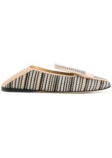 Sergio Rossi woven loafers