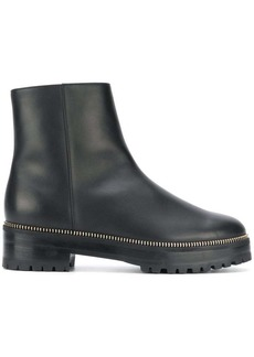 Sergio Rossi zip detail ankle boots