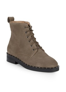 Seychelles Accountability Suede Combat Boots