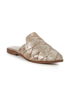 Seychelles Existence Metallic Suede Mules