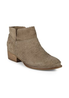 Seychelles Jacquard Suede Booties