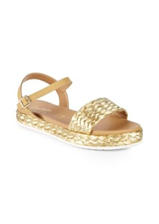 Seychelles Pre-Game Metallic Sandals