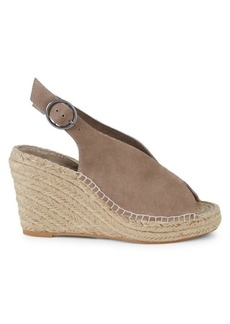 Seychelles Promenade Suede Wedge Sandals