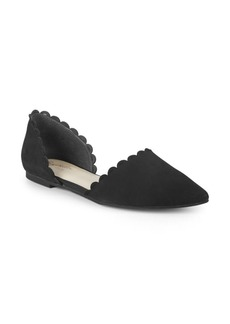 Seychelles Research D'Orsay Suede Flats