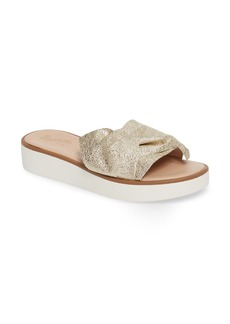 Seychelles Coast Knotted Slide Sandal (Women)