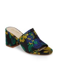Seychelles Commute Floral Flared Heel Sandal (Women)