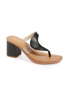 Seychelles Established Block Heel Side Sandal (Women)