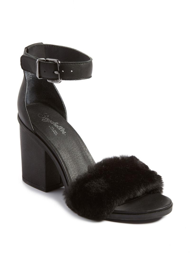 6413516540e Seychelles Seychelles Faux Fur Ankle Strap Sandal (Women)