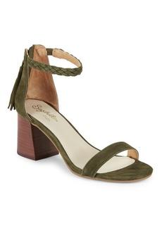 Seychelles Fury Suede Braided Strap Sandals