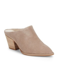 Seychelles Intrigue Point-Toe Leather Mules