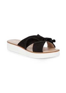 Seychelles Keep It Going Suede Platform Slides
