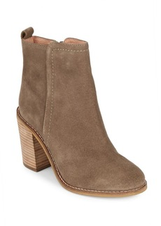 Seychelles Lounge Round-Toe Leather Booties