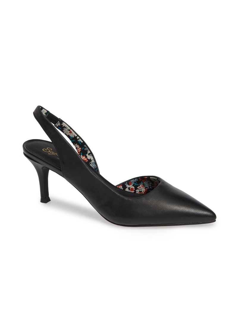Seychelles Ornament Slingback Pump (Women)