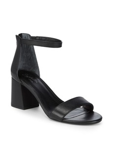 Seychelles Pandemonium Leather Ankle-Strap Sandals