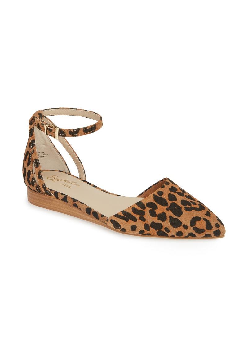 Seychelles Plateau Ankle Strap Flat (Women)
