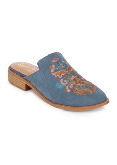 Seychelles Surprised Slip-On Suede Mules