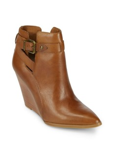 Seychelles Violin Wedge Booties