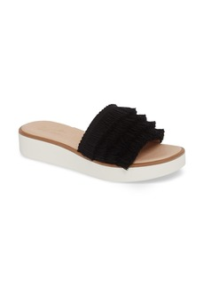 Seychelles Well Rested Ruffle Slide Sandal (Women)
